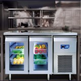 柜式和柜下式冰箱台面